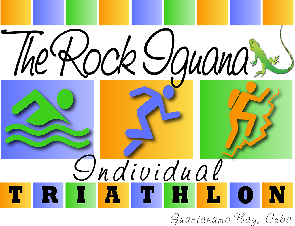 Rock Iguana Triathlon Design